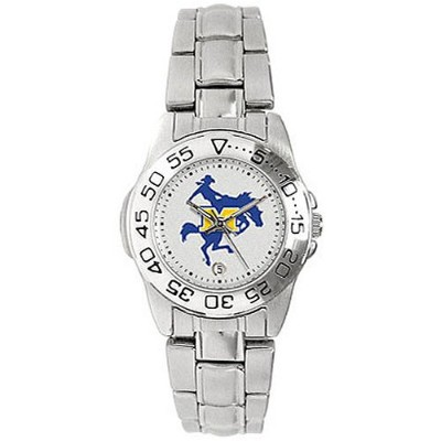 McNeese State Cowboys GamedayスポーツLadies ' Watch with aメタルバンド