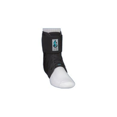 ASO EVO Ankle Stabilizer Brace (Medium - Black) by Medspec/ASO Braces