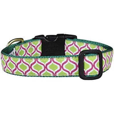 Up Country Green Kismet Dog Collar - Large by Animal World