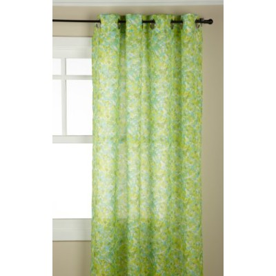 (Citrus) - Stylemaster Jackson 140cm by 210cm Splatter Paint Printed Grommet Panel, Citrus