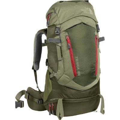 (取寄)ノースフェイス テラ 35L バックパック The North Face Men's Terra 35L Backpack Grape Leaf/Deep Lichen Green