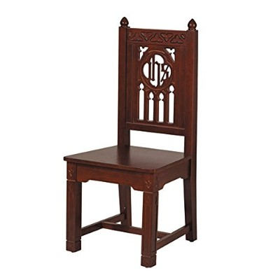 Religious & Christian、教会家具、FlorentineコレクションSide Chair – Walnut Stain