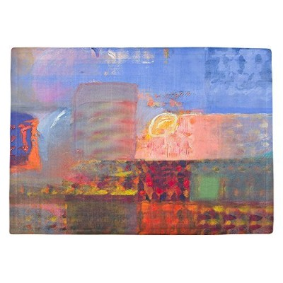 DIANOCHEキッチンPlaceマットby Hooshang Khorasani – Luminesence Set of 4 Placemats PM-HooshangLuminesence2