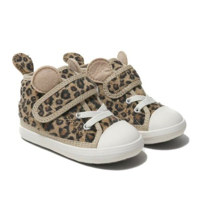 CONVERSE BABY ALL STAR N ANM V-1(コンバース ベビー オールスター N ANM V-1)BROWN LEOPARD【キッズ スニーカー】18HO-I