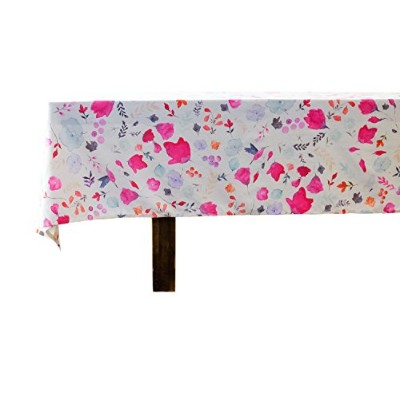 Vous Du Rivage ( Meadowコレクション)–100%コットンデジタルプリントWatercolorテーブルクロス–60-inch × 84。Suitable...