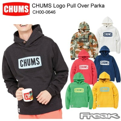 CHUMS チャムス CH00-0646 CHUMS Logo Pull Over Parka チャムスロゴプルオーバーパーカー  ※取り寄せ品