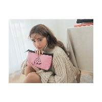 3CE  3CE PINK RUMOUR POUCH(3165311002001) 【三越・伊勢丹/公式】 バッグ~~セカンドバッグ・ポーチ