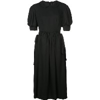 Simone Rocha puff sleeve dress - ブラック