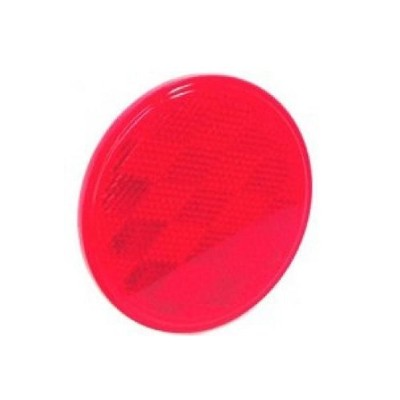 (7.6cm , Red) - REFLECTOR RED 7.6cm