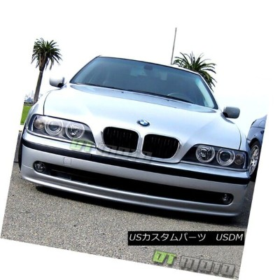 ヘッドライト Black 1997-2003 BMW E39 5-Series LED CCFL Projector Headlights Lamps Left+Right 黒1997-2003...