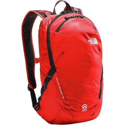 (取寄)ノースフェイス ルート ロケット 16L バックパック The North Face Men's Route Rocket 16L Backpack Fiery Red/Tnf Black