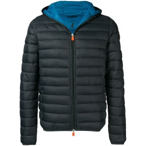 Save The Duck hooded padded jacket - グレー