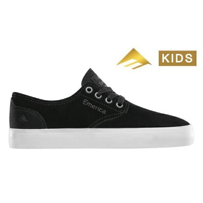 【Emerica】ROMERO LACED YOUTH  Leo Romero Signature Model カラー:black/white/gum 【エメリカ】【スケートボード】【シューズ...
