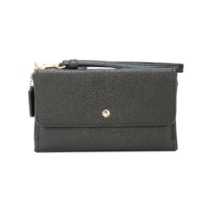 Coach triple small wallet - ブラック