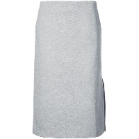 Tibi Bond a-line skirt - グレー