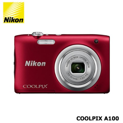 Nikon(ニコン)/COOLPIX A100 レッド