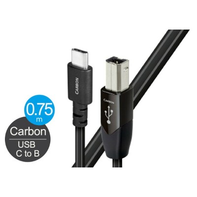 audioquest - USB2 CARBON/0.75m/CB《USB2/CAR/0.75M/CB》(USB3.1・C-B)【店頭受取対応商品】【在庫有り即納】