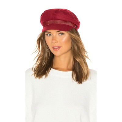 ラグ&ボーン Rag & Bone レディース 帽子【Fisherman Cap】Red Melange