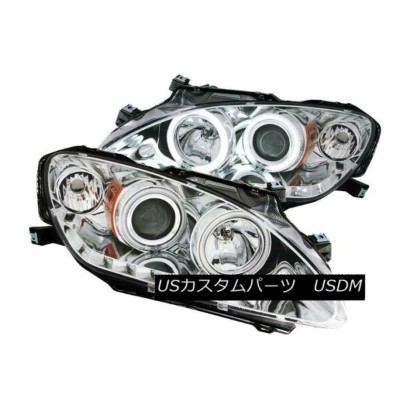 ヘッドライト ANZO 121392 Set of 2 Chrome CCFL Halo Projector Headlights for 04-09 Honda S2000 ANZO 121392...