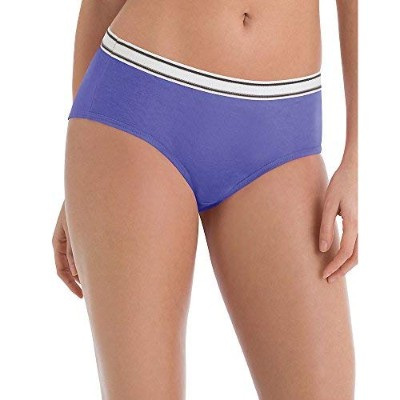 Hanes PP41SC Sporty Womens Hipster Panties, Multicolored - Size 7