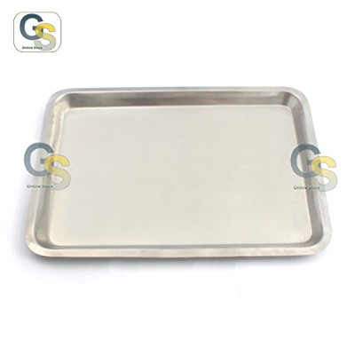G.S STAINLESS STEEL JELLY ROLL BAKING PAN BEST QUALITY