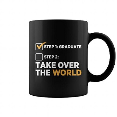Graduate and Take Over the Worldマグ