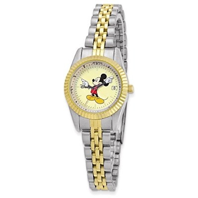 Disney大人用サイズツートンカラーW/Moving Arms Mickey Mouse Watch