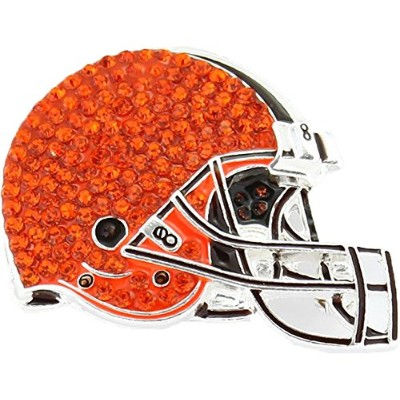 Cleveland Brownsクリスタルロゴブローチピン