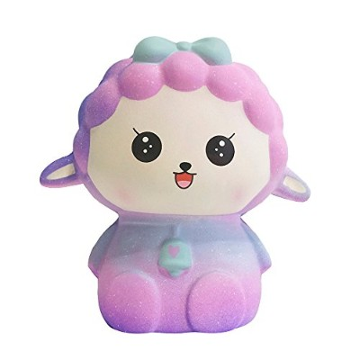 ジャンボSquishies yamally 11 cm Squishy Slow RisingおもちゃStress RelieverキュートGalaxy Sheep手手首おもちゃ香りクリーミーCart...