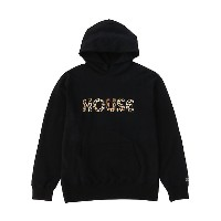 IN THE HOUSE  HOUSE ANIMAL HOODIE ブラック/レオパード 【三越・伊勢丹/公式】 メンズウエア~~その他トップス