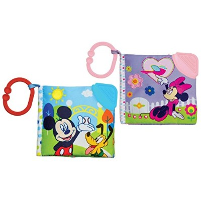 Disney Mickey Mouse & Minnie Mouse Soft Teething Book Set by Disney
