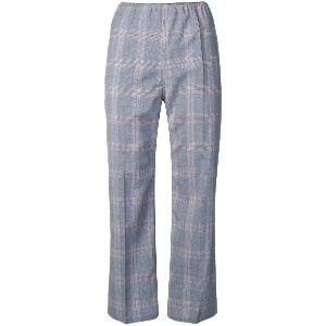 Sofie D'hoore plaid cropped trousers - ブルー