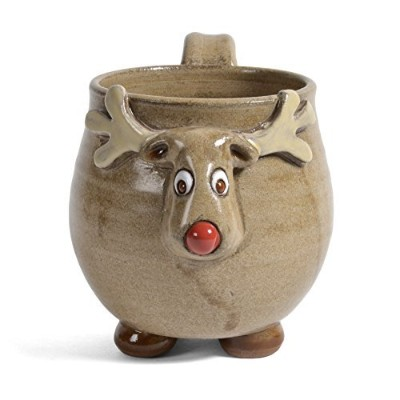 Mudworks Pottery Footedトナカイマグ