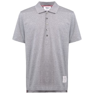 Thom Browne button polo shirt - グレー
