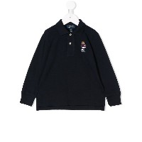 Ralph Lauren Kids Polo Bear polo shirt - ブルー