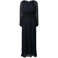 P.A.R.O.S.H. pleated gown - ブルー