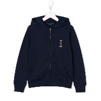 Ralph Lauren Kids basic zipped jacket - ブルー