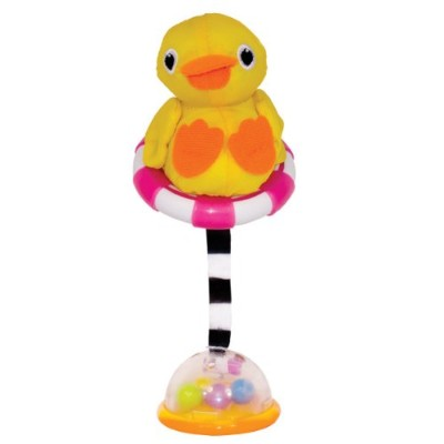 Sassy Fill and Float Ducky Infant Toy (Multicoloured)