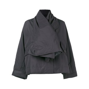 Pleats Please By Issey Miyake scarf jacket - ブラック