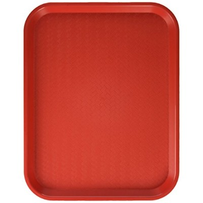 CAFETERIA TRAYS - FAST FOOD TRAY - CAFE - LUNCH - PLASTIC TRAYS ASSORTMENT OF COLORS 14 X 17 3/4 ...