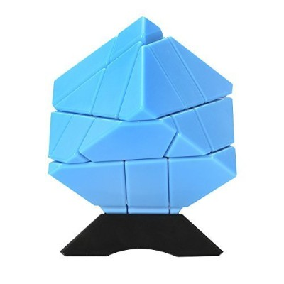 Twister.CK Ghost Cube 3x3,3x3 speed cube stickerless,cube puzzle speed,Smooth Corner Turning with...