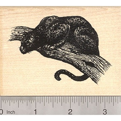 Black Panther Rubber Stamp, Jaguar, Leopard Large Cat