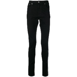 Stampd low rise skinny jeans - ブラック