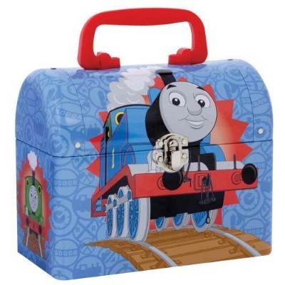 Thomas the Tank Engine Tin Domed Keepsake Carrying Case by Schylling [並行輸入品]