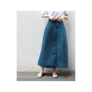 ADAM ET ROPE' 【BIG JOHN for ADAM ET ROPE'】 COLOR DENIM SKIRT(ブルー(44))