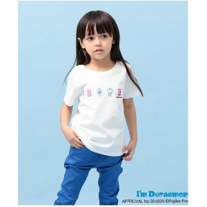 【SALE 50%OFF】ROPE' PICNIC KIDS 【ROPE' PICNIC KIDS】【I'm Doraemon】 Tシャツ(オフホワイト(15))【返品不可商品】