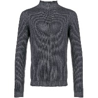 Dell'oglio ribbed knit sweater - グレー