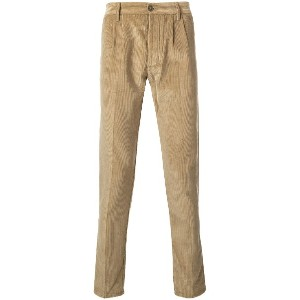 Fortela tapered trousers - ニュートラル