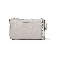 Michael Kors Collection Jet Set chain clutch - グレー