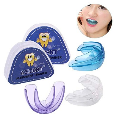 1 SET(SOFT+HARD) Pro Silicone Tooth Orthodontic Dental Appliance Trainer Alignment Braces For Teeth...